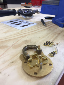Padlock making workshop - Saturday 18th April, 2020 (POSTPONED)
