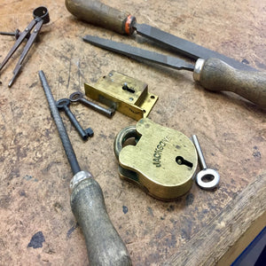 STAY TUNED - More padlock making workshops coming in 2020