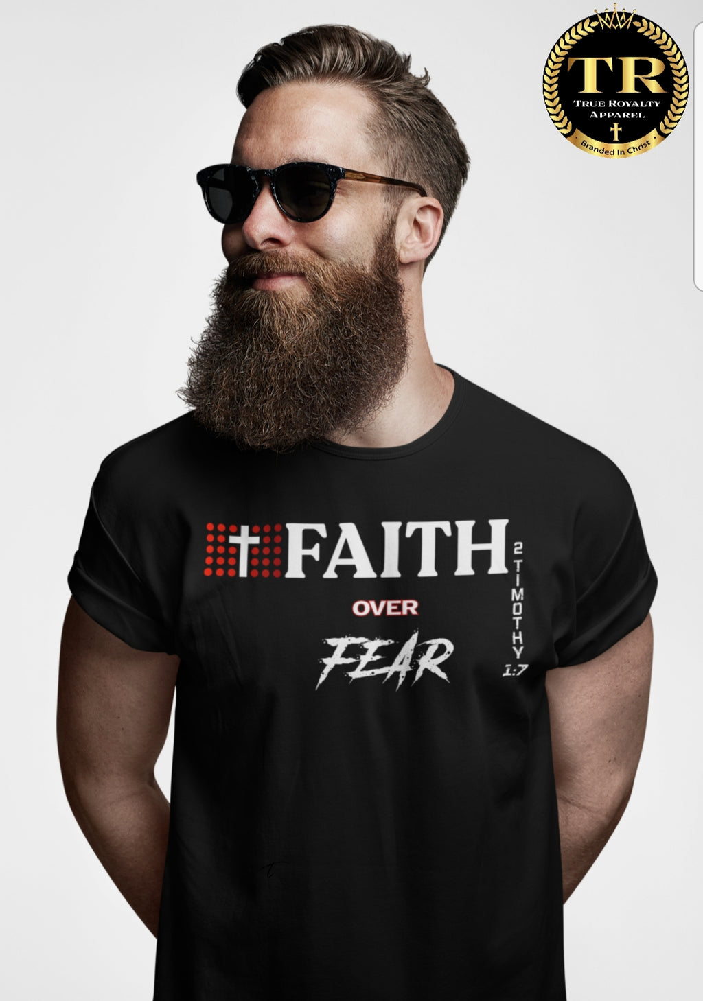 Faith over Fear: Unisex Tee