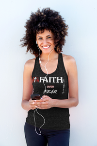 Faith over Fear: Adult Unisex Tank