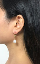 Load image into Gallery viewer, Laeta - 14K Gold Filled Baroque Pearl Earrings