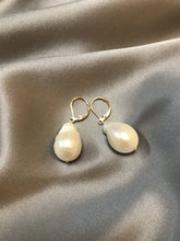 Load image into Gallery viewer, Rosea - 18K Gold Plated Baroque Pearl Earrings