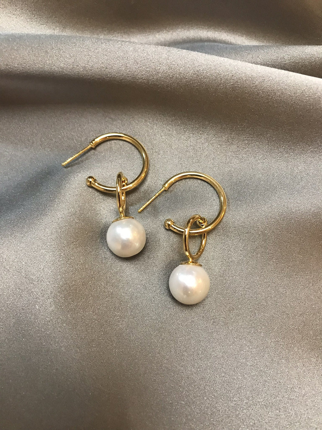 Astri - Baroque Pearl Earrings
