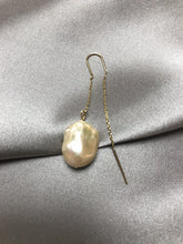 Load image into Gallery viewer, Mani - 24K Gold Plated Baroque Pearl Earring