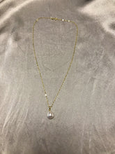 Load image into Gallery viewer, Issa - South Sea Baroque Pearl Necklace with 18K Gold Plated Silver Chain