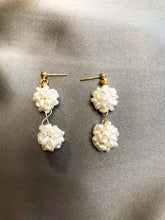 Load image into Gallery viewer, Flora - 18K Gold Plated Baroque Pearl Earrings