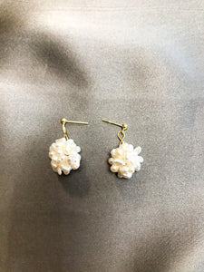 Flora - 18K Gold Plated Baroque Pearl Earrings