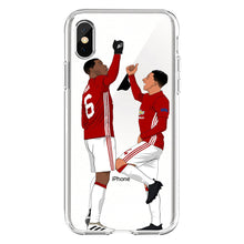 Załaduj obraz do przeglądarki galerii, Etui na iPhone lub iPhone XS Messi Gwiazda Piłki Nożnej Soccerball Phone  SJK-YLBB-101007-1 - Magic Pockets