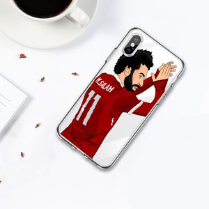 Etui na iPhone lub iPhone XS Messi Gwiazda Piłki Nożnej Soccerball Phone  SJK-YLBB-101007-1 - Magic Pockets