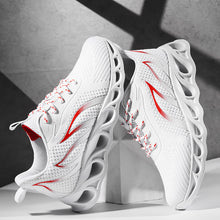 Załaduj obraz do przeglądarki galerii, A generation of men's shoes summer new flying woven mesh shoes breathable running shoes foreign trade gym student sports shoes