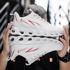 A generation of men's shoes summer new flying woven mesh shoes breathable running shoes foreign trade gym student sports shoes
