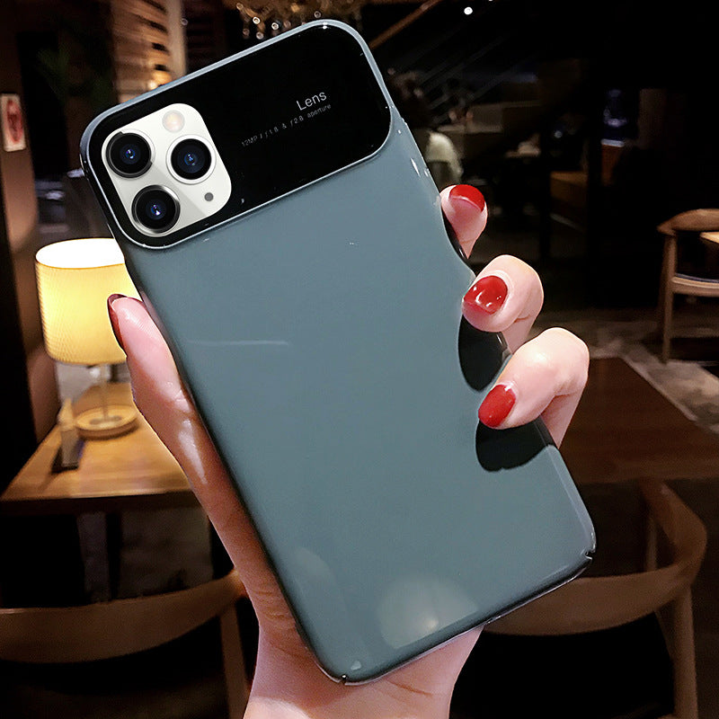 Etui na Iphone Grandma grey Apple x mobile phone case iPhone 11pro suitable for 8plus solid color xsmax couple xrnet red 7 tide 6 - Magic Pockets