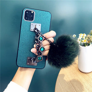 Etui na telefon dla iPhone 11 Xs Max/7PLUS Bransoletka Rhinestone  11Pro   SJK-YLBB-10011 - Magic Pockets