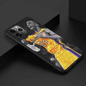 Etui na iPhone Basketball NBA Lakers Czarna Mamba Kobe Kobe Bryant etui na telefon SJK-YLBB-101003-2 - Magic Pockets