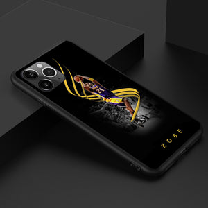 Etui na iPhone11 NBA Lakers Czarna Mamba Kobe Kobe phone case  SJK-YLBB-101004-1 - Magic Pockets