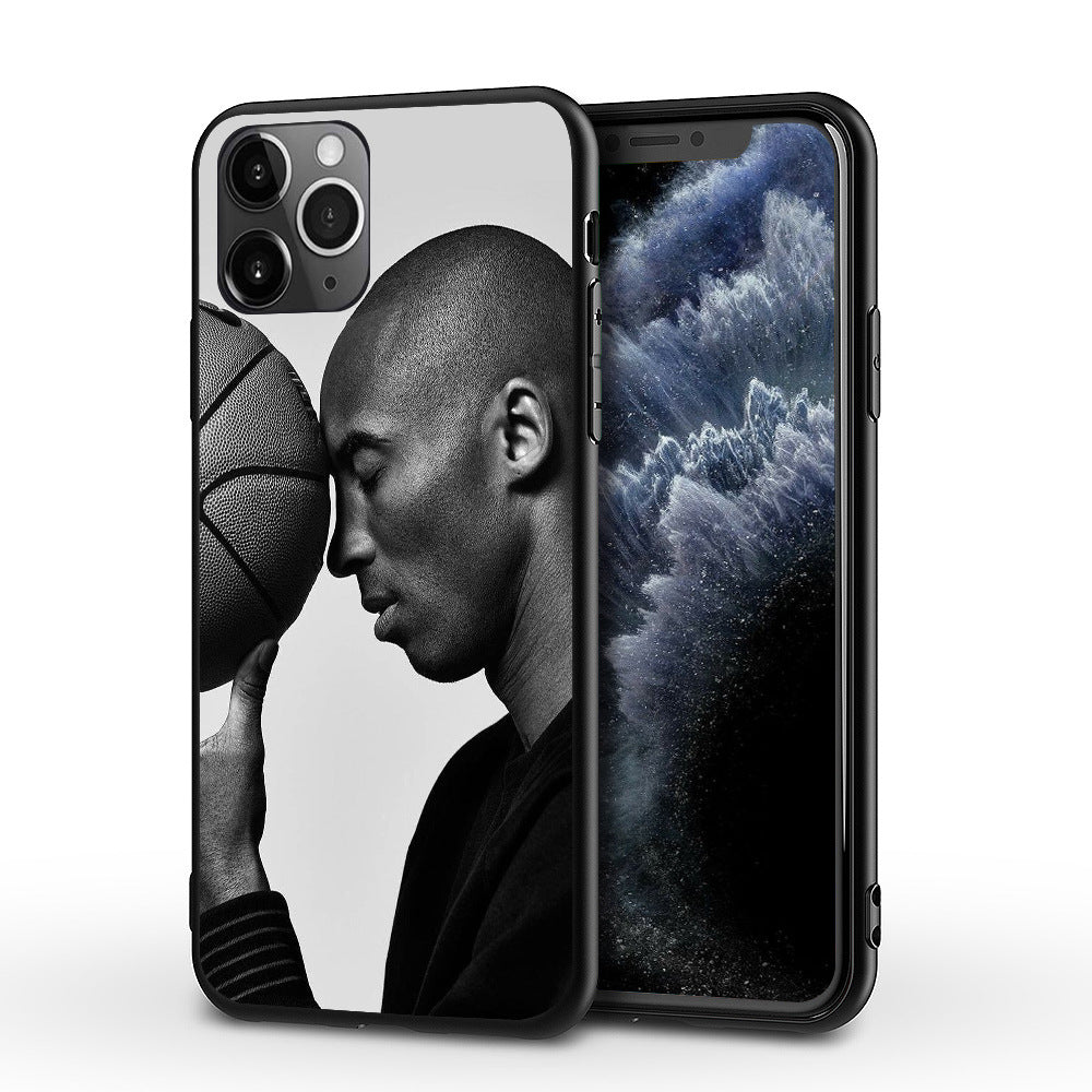 Etui na iPhone Basketball NBA Lakers Czarna Mamba Kobe Kobe Bryant etui na telefon SJK-YLBB-101003-3 - Magic Pockets