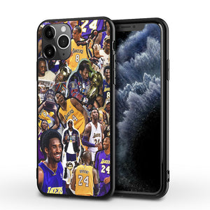 Etui na iPhone11 NBA Lakers Czarna Mamba Kobe Kobe phone case  SJK-YLBB-101004-3 - Magic Pockets