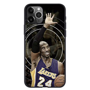 Etui na iPhone Basketball NBA Lakers Czarna Mamba Kobe Kobe Bryant etui na telefon SJK-YLBB-101003-1 - Magic Pockets