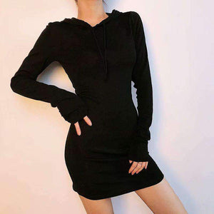 Slimming Hat Sweater Dress - Magic Pockets