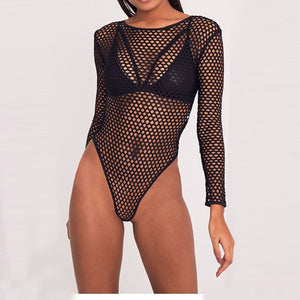 Nowe damskie topy_clothing bottom shirt sexy bare-back perspective seduction jumpsuit women's clothing  SY-YLBB-10404 - Magic Pockets