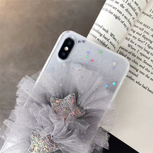 Etui na Iphone  flower x mobile phone case iPhone XS Max soft shell 8plus  XR 7 / 6S - Magic Pockets