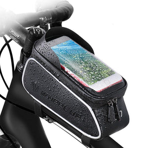 Water repellent package bicycle riding equipment