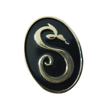 Load image into Gallery viewer, Official S Snake Logo Enamel Pin