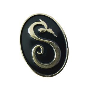 Official S Snake Logo Enamel Pin