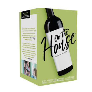 On the House California Red - (30 bottle wine kit)