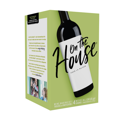 On the House Merlot - (30 bottle wine kit)