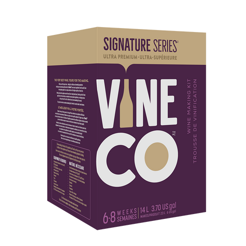 Signature Cabernet Sauvignon Merlot - France (30 bottle wine kit with grape skins)