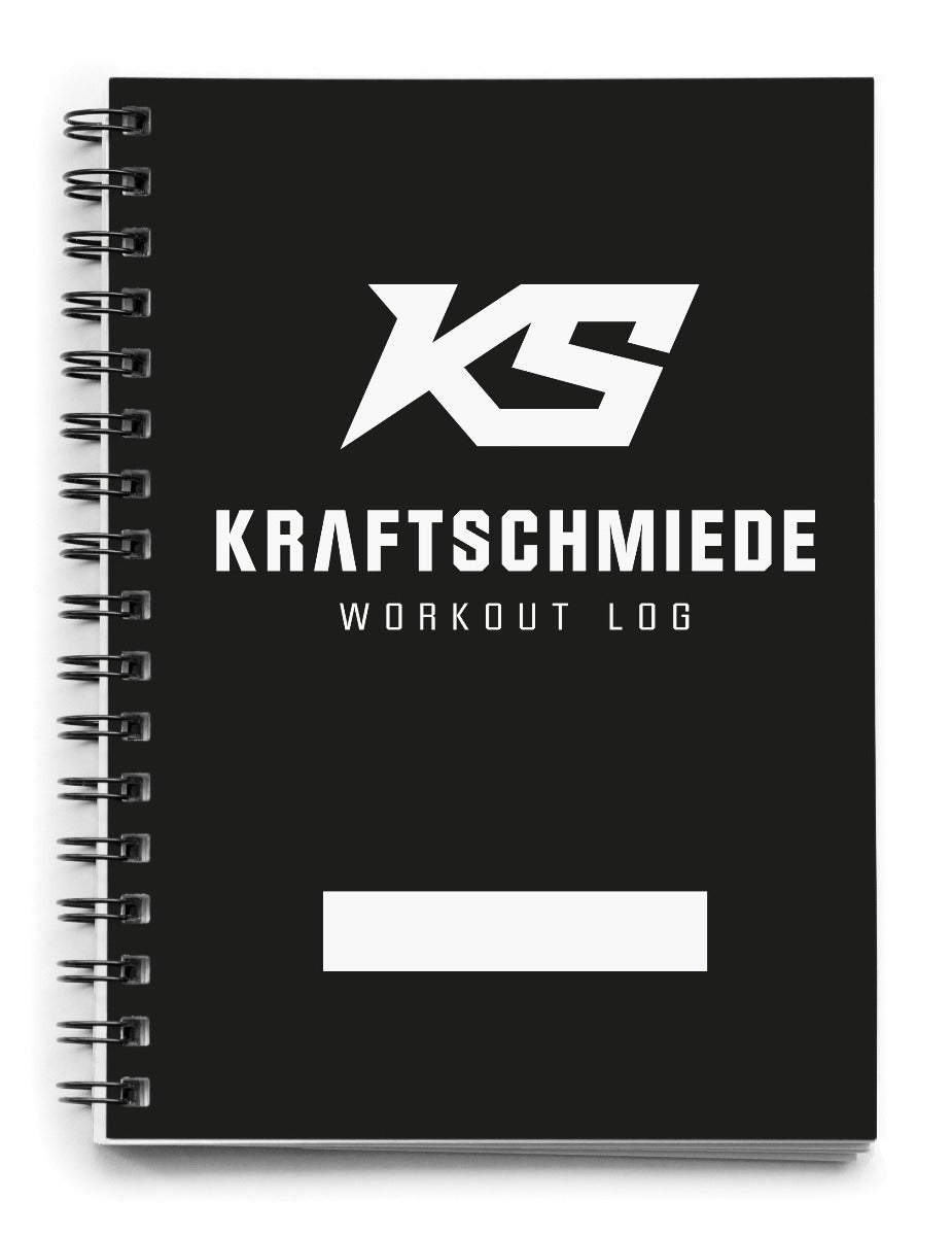 KRAFTSCHMIEDE® Workout Log (DIN A6)