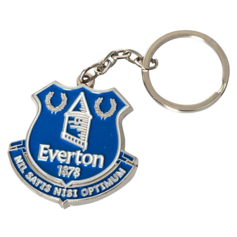 EVERTON CREST KEYRING - [everything-football].