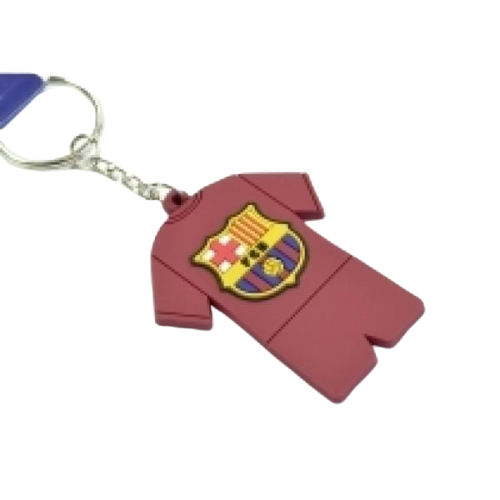BARCELONA PVC FULL KIT KEYRING - [everything-football].