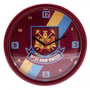 West Ham Wall Clock - [everything-football].