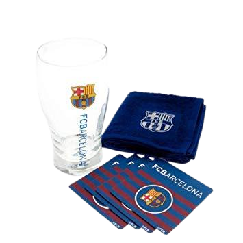 BARCELONA MINI BAR SET - [everything-football].