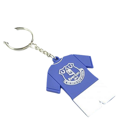EVERTON PVC FULL KIT KEYRING - [everything-football].