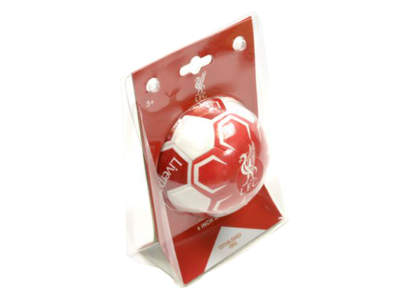 "LIVERPOOL FC 4"" MINI SOFT BALL"