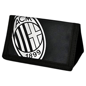 AC MILAN FOIL PRINT WALLET - [everything-football].