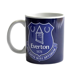 EVERTON HALF TONE MUG - [everything-football].