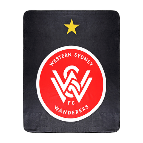 SYDNEY WANDERERS FLEECE RUG - [everything-football].