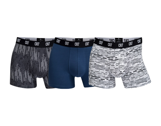 CR7 3-PACK TRUNK COTTON STRETCH - [everything-football].