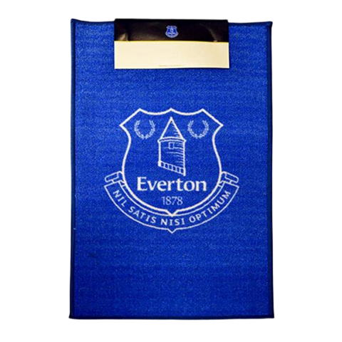 EVERTON CREST RUG - [everything-football].