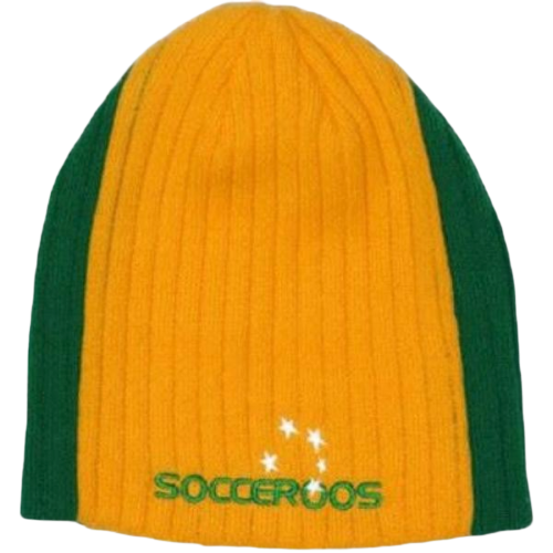 SOCCEROOS RIB KNIT BEANIE - [everything-football].