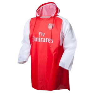ARSENAL RAIN PONCHO WITH BAG - [everything-football].
