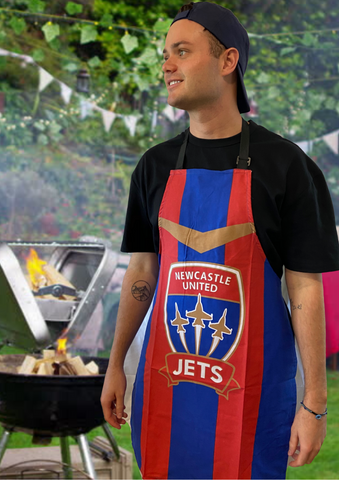 NEWCASTLE JETS BBQ APRON
