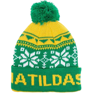 MATILDAS SNOWFLAKE BEANIE - [everything-football].