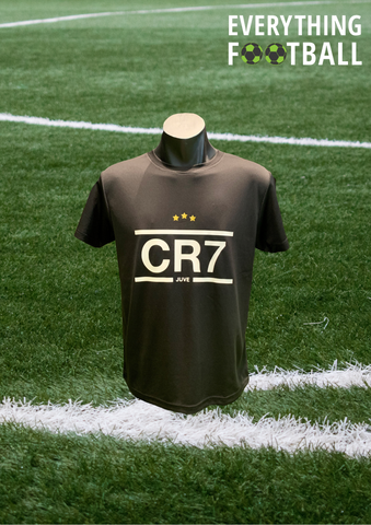 CR7 JUVENTUS PERSONALISED SUPPORTER SHIRT - YOUTH