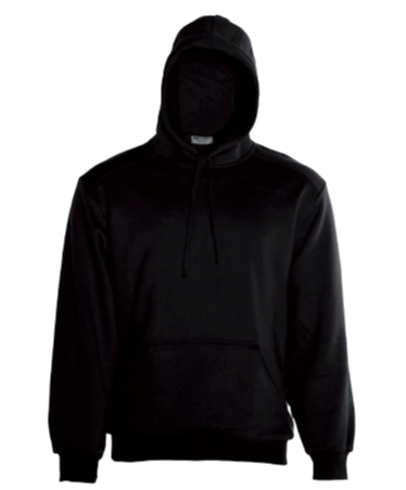 YOUTH BLACK PULLOVER HOODIE WITH POCKET