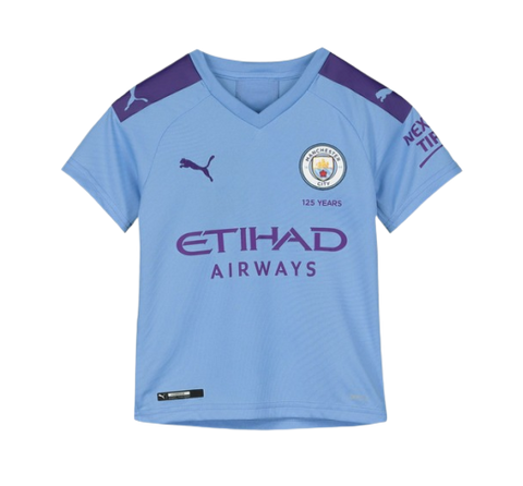 PUMA MANCHESTER CITY HOME JERSEY YOUTH 19/20 - [everything-football].